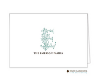 Clean & Simple-0019 Personalized Folded Notecard