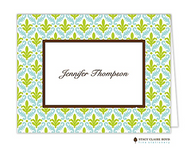 Arabesque Personalized Folded Notecard