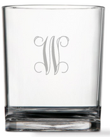 Personalized 14oz Clarus Double Old Fashion - Set of 4