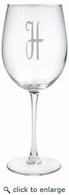 Personalized 12oz Wine Stemware - Set of 4 (Glass)