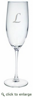 Personalized 8oz Champagne Flute (Glass)