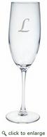 Personalized 8oz Champagne Flute (Glass)