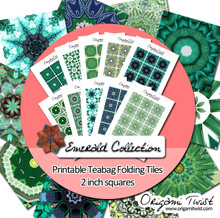 Emerald 10 page Teabag Folding Collection