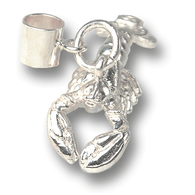 Sterling Silver Lobster Charm