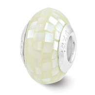 Mother of Pearl Mosaic Bead