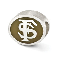 Florida State University Bead, compatible with Pandora