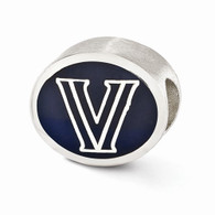 Sterling silver Villanova bead fits most Pandora type charm bracelets
