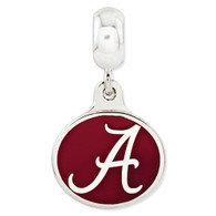 Sterling silver University of Alabama Charm