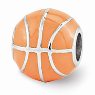 Basketball bead, compatible with Pandora, Troll etc.