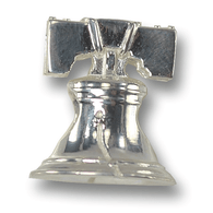 Silver Liberty Bell Charm