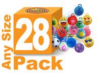 20 Balls + 8 Free (adult size)!