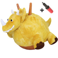 Plush Hopper Ball Dino