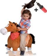 Mr Jones the Jumping Plush Horse (Large)