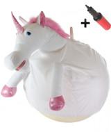 WALIKI TOYS Unicorn Plush Ball Hopper (adult size)