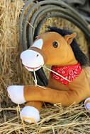 12 inch plush horse