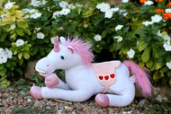 12 inch plush unicorn