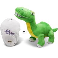 Lala the Dino Egg: Pack of 10 Reversible Plush Eggs