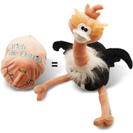 Reversible Egg Rich the Ostrich