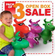Open Box: 3 Benny the Bull Pack