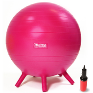 """Chair Ball for Kids: Small, Purple 18"""""""