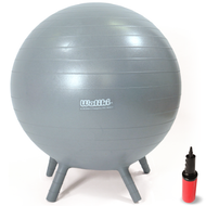 Chair Ball for Kids: Large, Gray 20""