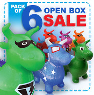 Open Box: 6 Benny the Bull Pack