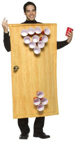 BEER PONG COSTUME ADULT STD