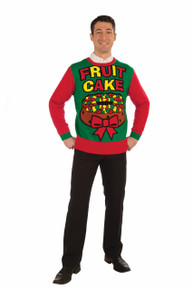 FRUIT CAKE CHRISTMAS SWEATER
