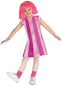 LAZY TOWN STEPHANIE COSTUME CHILD *CLEARANCE*