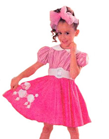 BARBIE BOBBY SOXER COSTUME TODDLER