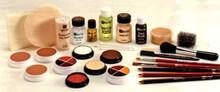 Ben Nye Theatrical Creme Makeup Kit (Dark Brown)