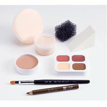 Ben Nye Theatrical Creme Personal Makeup Kit (Brown-Light)