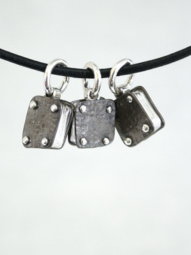 elements: titanium and sterling silver