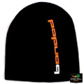 "Banded Beanie Black with ""banded"" Logo"
