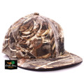 Banded Fitted Flat Bill Cap - Max-5