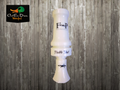 FIELD PROVEN CALLS FPC DOUBLE SHOT POLY DUCK CALL IVORY