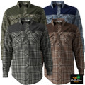 Banded Soft Shell Flannel Shirt