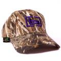Hunting Cap - Max-5 w/ Purple b Logo