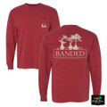 Banded Cypress L/S T-Shirt - Brick