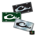 DRAKE WATERFOWL LOGO LICENSE PLATE