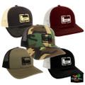 """Banded """"b"""" Logo Trucker Cap"""