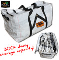 NEW WHITE ROCK DECOY COMPANY SNOW GOOSE WIND SOCK DECOY STORAGE BAG