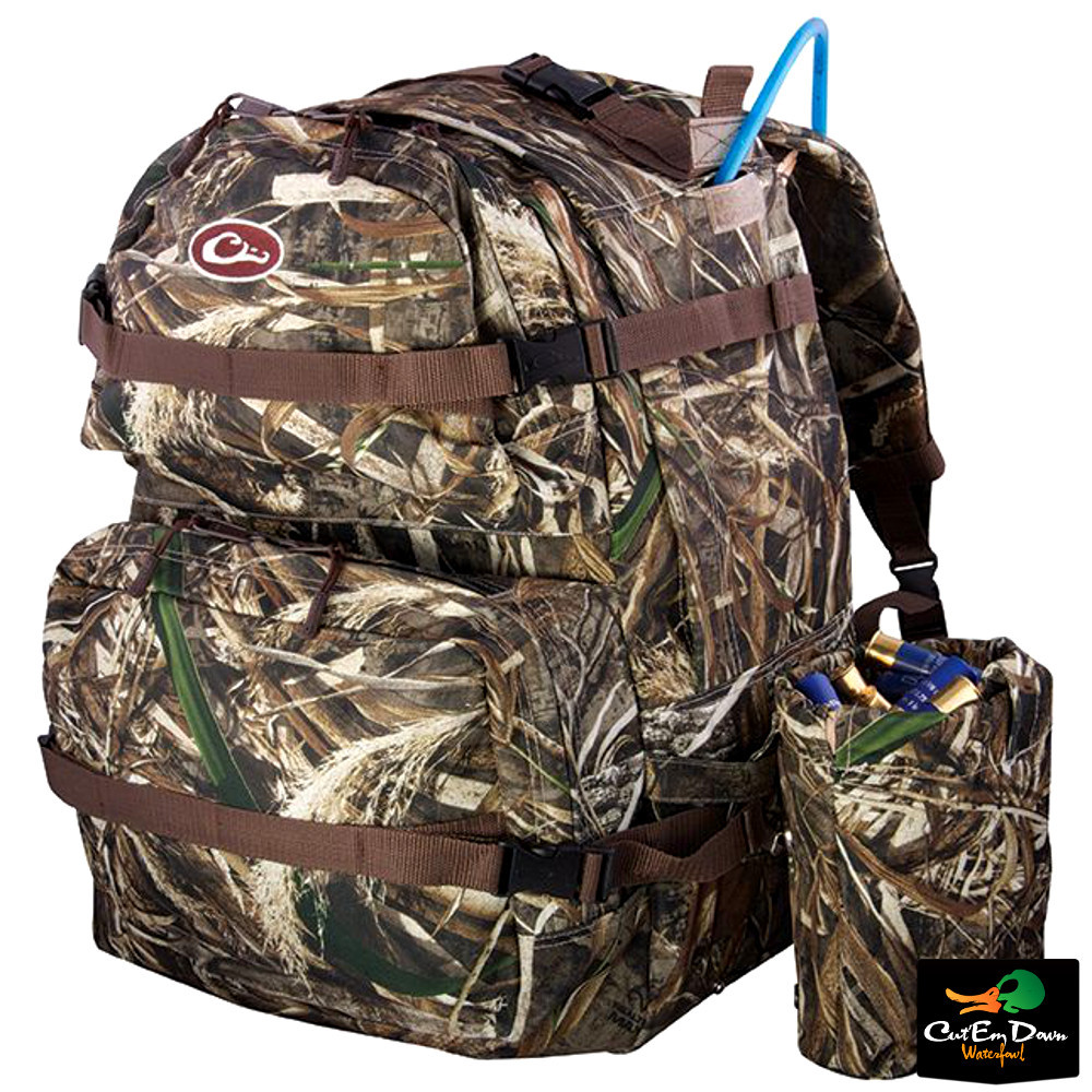 No Easy Answers In Afghanistan >> DRAKE WATERFOWL WALK-IN BACKPACK BACK PACK DAY BLIND BAG HIKING MAX-5 CAMO LARGE | eBay