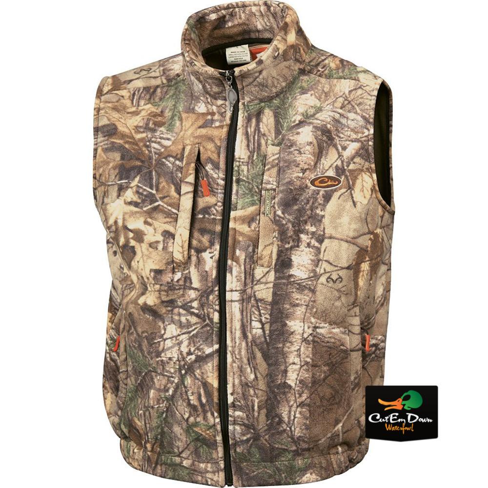 Drake Waterfowl Non Typical Silencer Fleecer Vest