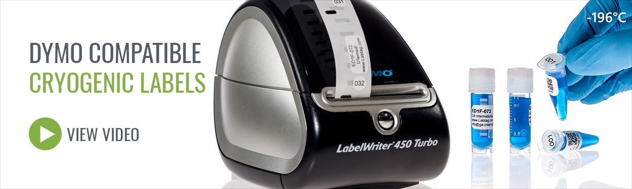 dymoe compatible laboratory labels