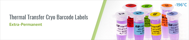 Thermal Transfer Cryo Labels uk