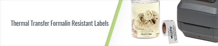 Formalin Resistant Tags Canada