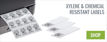 Xylene & Chemical Resistant Labels