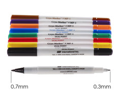 lab marker fine and extra fine tip.