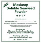 Maxicrop Soluble Seaweed Powder (1-0-17) 44 lb makes 66 gallons